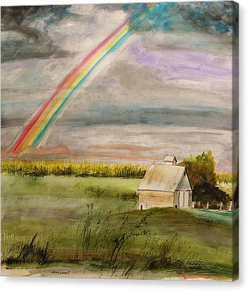 After Warm Rain Canvas Print by John Williams