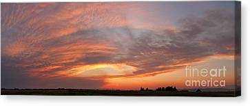 Afterglow Canvas Print by Charles Kozierok