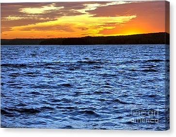 Afterglow Canvas Print by Olivier Le Queinec