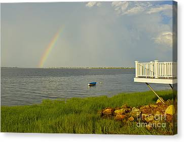 Canvas Print featuring the photograph Aftermath by Alice Mainville