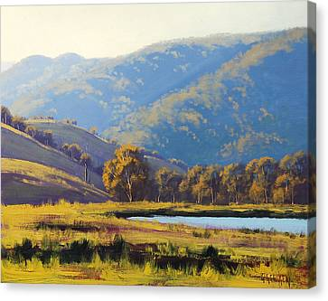 Afternnon Light Lithgow Canvas Print by Graham Gercken
