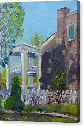 Carnton Plantation Canvas Print - Afternoon At Carnton Plantation by Susan Elizabeth Jones
