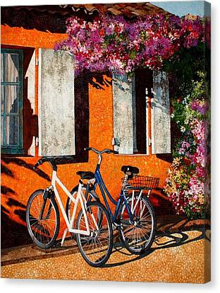 Afternoon Delight Canvas Print by Lenore Crawford
