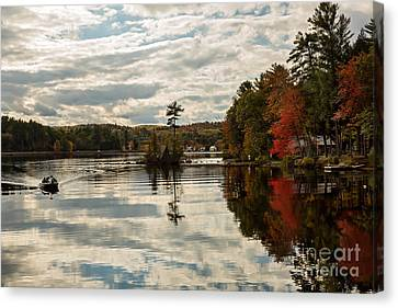 Afternoon Fishing Trip Canvas Print