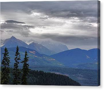 Afternoon In Yoho No. 2 Canvas Print
