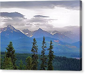 Afternoon In Yoho No.1 Canvas Print