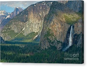 Afternoon In Yosemite Canvas Print by Sandra Bronstein