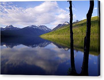 Glacier National Park Canvas Print - Afternoon Light by Chad Dutson