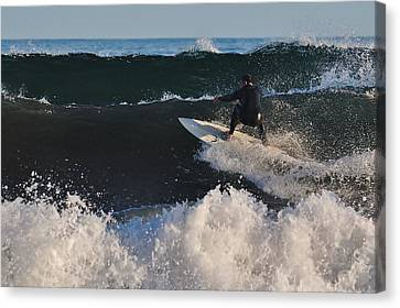 Canvas Print featuring the photograph Afternoon Session by Paul Noble