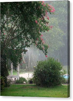 Afternoon Showers Canvas Print by N S