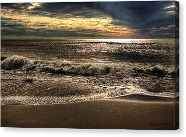 Canvas Print featuring the photograph Afternoon Swell by Julis Simo