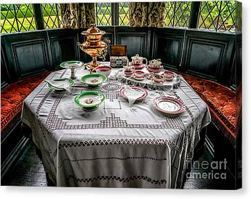 Afternoon Tea Canvas Print by Adrian Evans