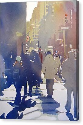 Against The Light Canvas Print by Kris Parins