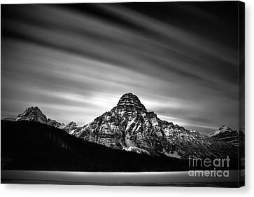 Against The Sky Canvas Print by Dan Jurak