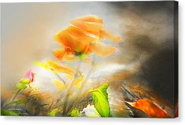 Canvas Print featuring the photograph Agarradas A La Vida by Alfonso Garcia