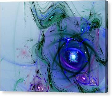 Agasti Lakshmi Stotra Canvas Print