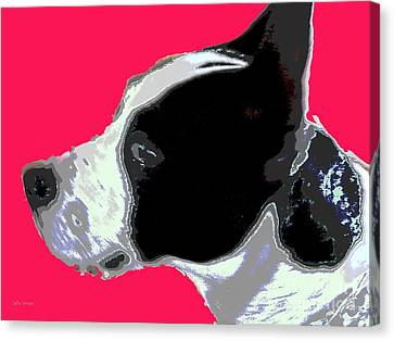 Agatha 1 Canvas Print by Sally Simon