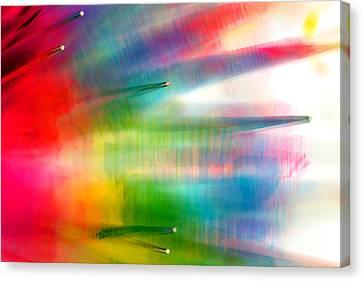 Age Of Aquarius Canvas Print by Dazzle Zazz