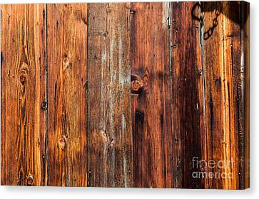 Canvas Print featuring the photograph Aged Wood by Charles Lupica