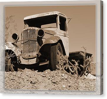 Aging Ford Canvas Print by Renie Rutten