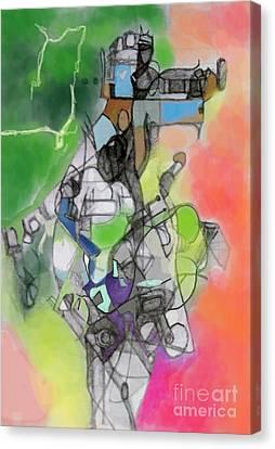 Self-renwal 10g Canvas Print by David Baruch Wolk