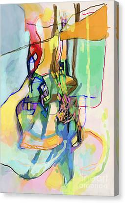 Self-renewal 13q Canvas Print by David Baruch Wolk