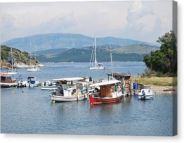 Agios Stefanos Canvas Print by George Katechis