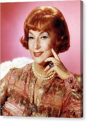 Agnes Moorehead In Bewitched  Canvas Print