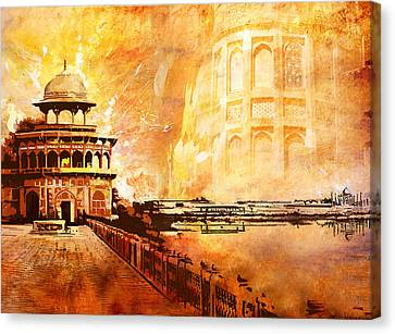 Agra Fort Canvas Print by Catf