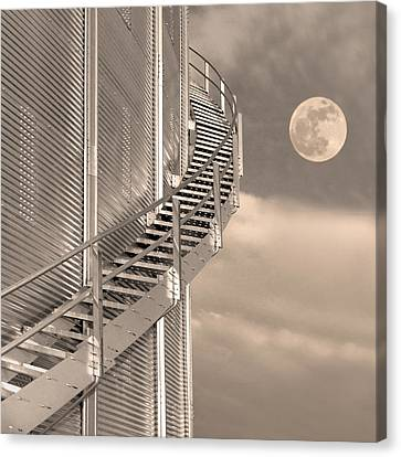 Agri Moon Canvas Print