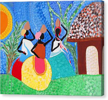 Aguadeiras Canvas Print by Fatima Neumann