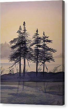 Aguasabon Trees Canvas Print