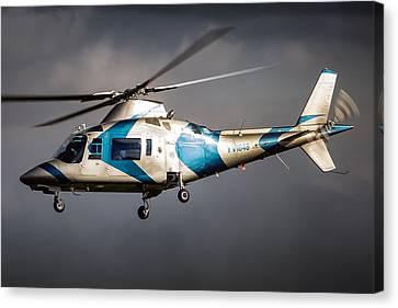 Aviationart Canvas Print - Agusta 109 by Felix Bahamonde