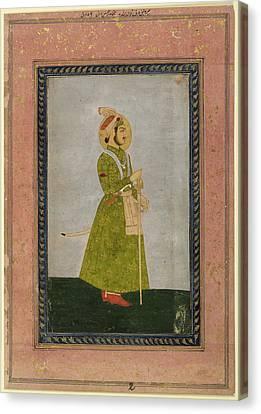 Ahmad Shah Canvas Print by British Library