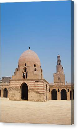 Ahmed Ibn Tulun Mosque, Cairo, Egypt Canvas Print by Nico Tondini