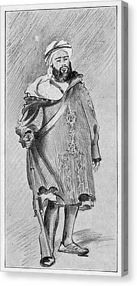 Moroccan Canvas Print - Ahmed Muhammed Raisuli (c1875-1925) by Granger