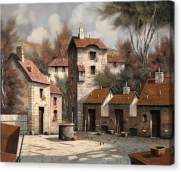 Aia Bianca Canvas Print by Guido Borelli