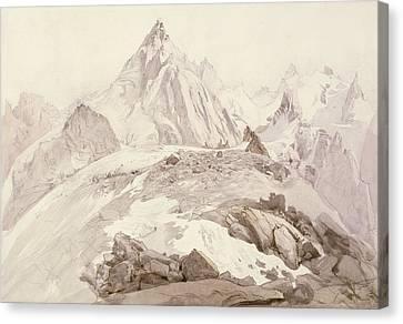 Aiguilles De Chamonix Canvas Print