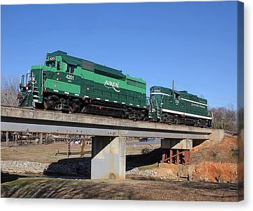 Aiken Railway 01/19/2014 Canvas Print