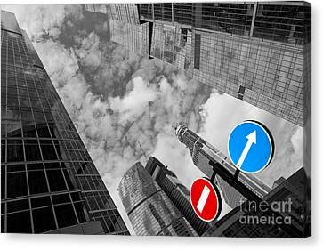 Aim High Canvas Print by Maurizio Bacciarini