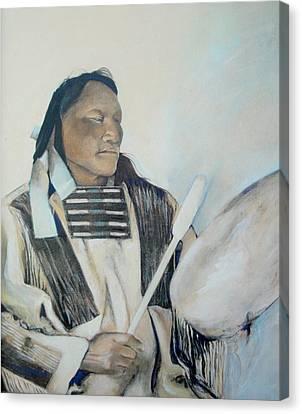 Ainihkiwa Canvas Print by Terri Ana Stokes