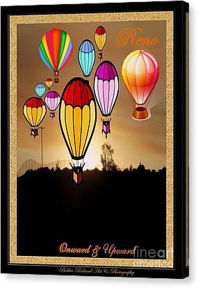 Air Balloons Reno Canvas Print by Bobbee Rickard