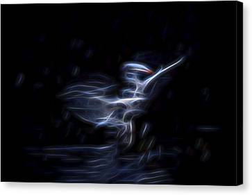 Air Elemental 1 Canvas Print by William Horden