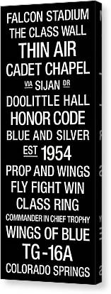 Air Force College Town Wall Art Canvas Print by Replay Photos