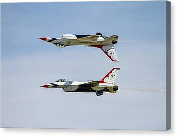 Air Force Thunderbirds Canvas Print by Bill Gallagher