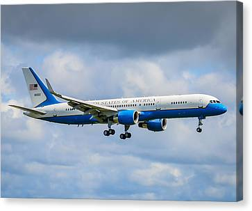 Potus Canvas Print - Air Force Two by Puget  Exposure