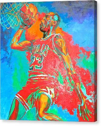 Air Jordan Canvas Print