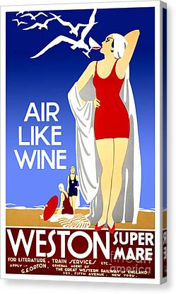 Nostalgia Canvas Print - Air Like Wine by Jon Neidert