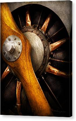 Motors Canvas Print - Air - Pilot - You Got Props by Mike Savad
