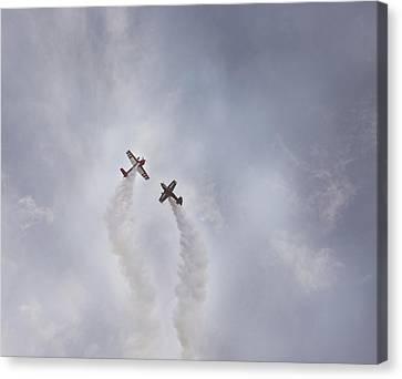 Air Show #3 Canvas Print by Pat Abbott
